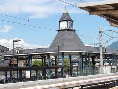 可部駅で折り返し、広島駅を目指します。
