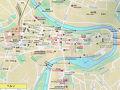 今日はベルンに行きます。  ネットでベルン市街図を手に入れました。