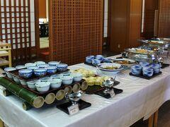 先日宿泊したかんぽの宿塩原もブッフェだったが、かんぽの宿の朝食は和洋ブッフェスタイルが多いのかな?