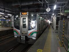 【その1】からのつづき  仙台からは、2つめの目的である常磐線の電車に乗る。 現在復旧している浜吉田駅までの電車。