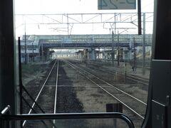 東北線と常磐線の分岐駅、岩沼駅。
