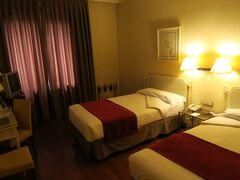 再びホテル アローザ