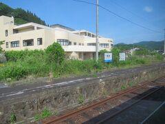 15:25 東城駅に着きました。(備後落合駅から48分)  広島県最後の駅です。