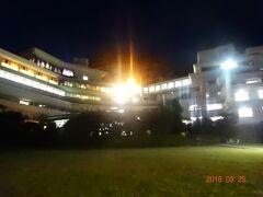 堂ヶ島ホテルの夜景。
