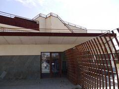ここが、ローマ競技場の入口です。 ここの屋上から競技場全体が見渡せます。