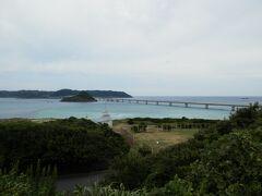 2016.09.03 角島大橋 特牛からバスに乗り西長門リゾートというバス停で降りた。直感で海の方を目指すと、橋を見ることができた。