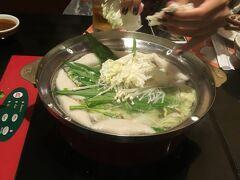 【MK】タイスキにしました。  白菜ぶち込み、まあまあ美味しい!