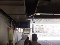 松本駅に着いて向かった先は松本バスターミナル。ここからバスに乗ります。