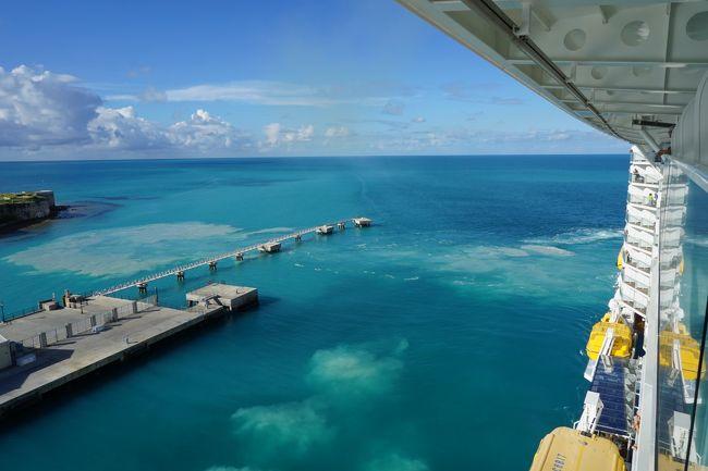 【バミューダ諸島クルーズ&NY】アンセム・オブ・ザ・シーズ バミューダでダイビング 5日目