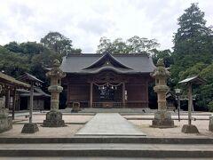 城址内には他に「松江神社」があって