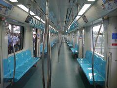 そして、やって来たマルマライの電車に再び乗り込み、隣駅の終点アイルルックチェシメスィで下車。