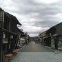 犬山の城下町。きれいに整備されています。