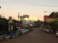夕焼けの街の景色。なんだか黄昏る~。