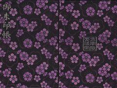 太宰府天満宮の御朱印帳。黒字に梅の花の素敵なものだったので天満宮専用御朱印帳として購入しました。