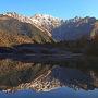 2016晩秋 初雪の穂高岳と上高地