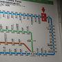 ●近距離切符案内板@JR宇佐駅  4つ隣の杵築駅まで向かいます。