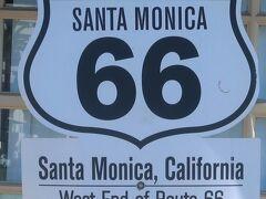 アメリカ西部52 バーストウ⇒(車窓風景)サンタモニカ 45