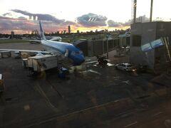 国内線空港に到着しました。 ここからも 世界一周券外のローカル航空を使います。