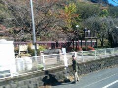13:15 わたらせ渓谷線 足尾駅を通過。