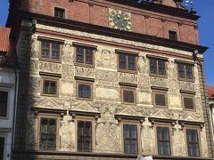 ルネサンス様式の市庁舎。