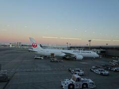 06:30 成田に到着。