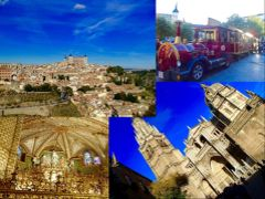 午後は、世界遺産「古都トレド」へ 中世に迷い込んでしまったかのような街並みに ただただ、ため息ばかりの「カテドラル」 建築様式や壁画の技法 素晴らしかった~  かなりお久しぶりの欧州..やっぱり凄い。。  http://4travel.jp/travelogue/11190207