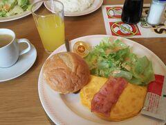 ジョイフルで朝食