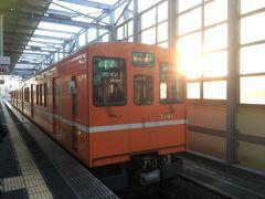 8:03電鉄出雲市駅を出発。