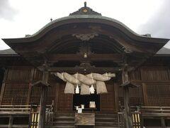 木綿街道 宇美神社。縁結びの神でもあり、縁切りの神でもあるそうです。
