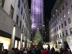 マンハッタンといえば夜景ですよね。エンパイアステートビルかトップ・オブ・ザ・ロックか迷いましたが、エンパイアを含めた夜景が見たかったので TOR にしました。 ということで、こちらもニュースなどでお馴染みのロックフェラーです。