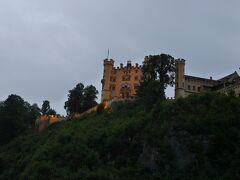 ホーエンシュバンガウ城もすぐそこに見えています。