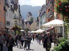フュッセンの町を散策します。  ライヒェン通り