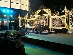 年が明けてからも、プロンポン駅前で、コンサート。でも、昨日までより、かなり地味(笑)