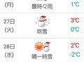 『tenki.jp』と言う日本の天気予報のサイト。  はるかリトアニアの天気を的中、お見事です。