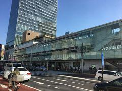 バスタ新宿、今回はこれを見に来ました。私の場合、最寄駅に羽田・成田両空港行きのバスターミナルがあるので、利用することはまずないと思うけど。