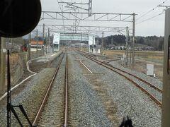 途中駅、磐城太田駅。