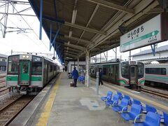 この電車の終点、原ノ町駅に到着。 ここで仙台行きに乗り換える。  【その3】につづく。