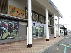 原ノ町駅。 南相馬市の中心駅である。