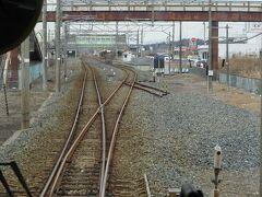 最初の駅、鹿島駅。