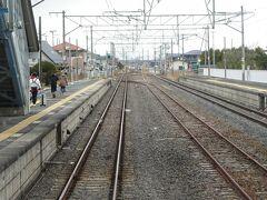 前回来たときは、仙台からの電車はここが終点だった。