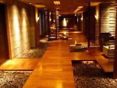 鶴雅系の宿は館内の装飾というかデザインが凝っていて毎回楽しませてくれる。 これだけでも旅行気分が高揚させられる。