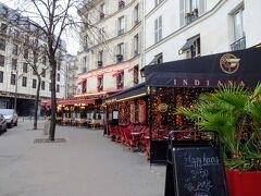 シャトレ、フォーラム・デ・アールあたり 以外とレストランはやっていた  元旦のパリはたしか3度目。パリでの年越しを意識しているわけではないけれど、休みが取れる時期だからね