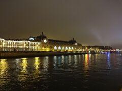Musee d'Orsay オルセー美術館前の乗り場を目指す