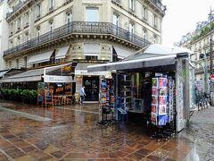 Etienne Marcel  モンマルトルの丘に行こうとメトロに向かうも寒すぎてエティエンヌ・マルセル駅近くのカフェへ避難
