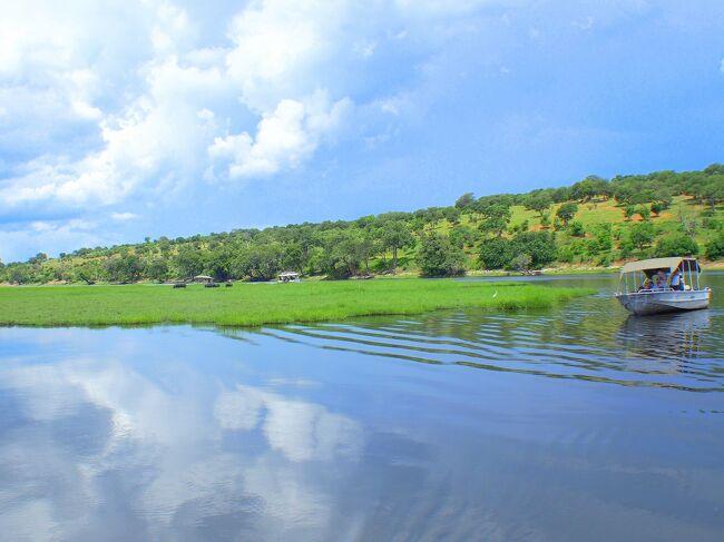 チョベ川ボートサファリ