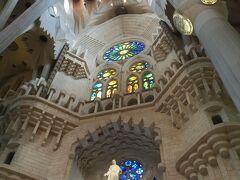 あ、ベルナベウではありません!  一気に飛んでバルセロナへ。そう、サグラダファミリアです。