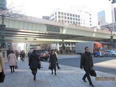 五街道の起点「日本橋」の現在の姿です。橋の上を首都高速道路が覆っています。