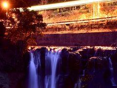 すっかり真っ暗な龍門の滝の風景でアレなんですが(笑)、一枚パチリ☆