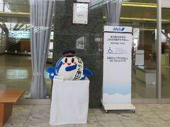 能登空港は雪が吹雪いていた。 (  Д ) ゚ ゚ あまりの光景にちょっとショックを受け、写真に収める事を忘れてしまった。