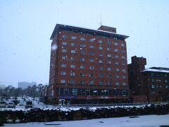 今旅最後の宿泊地はリーズナブルだった湯の川観光ホテル。  (後日撮影)